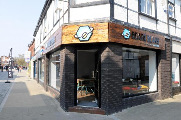 Board Beans Cafe