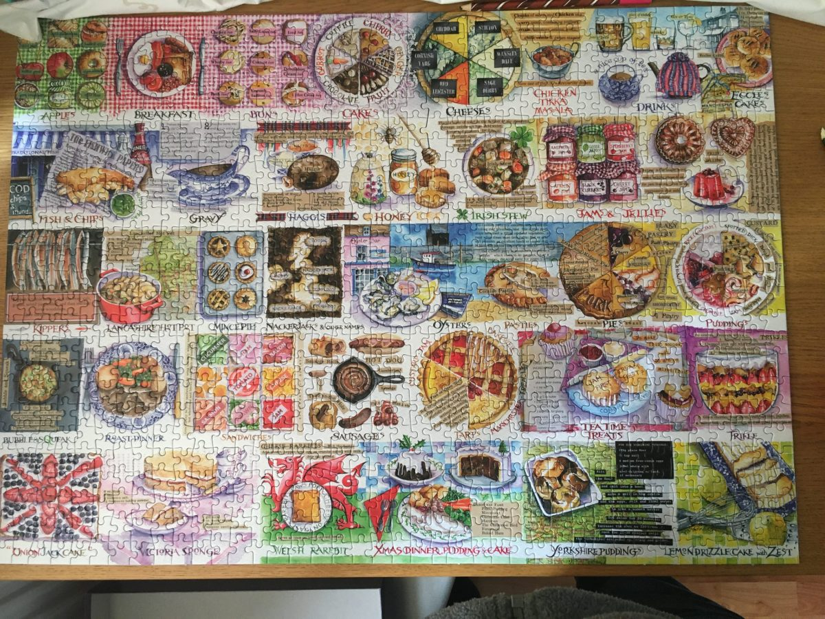 Pies and Puddings Jigsaw