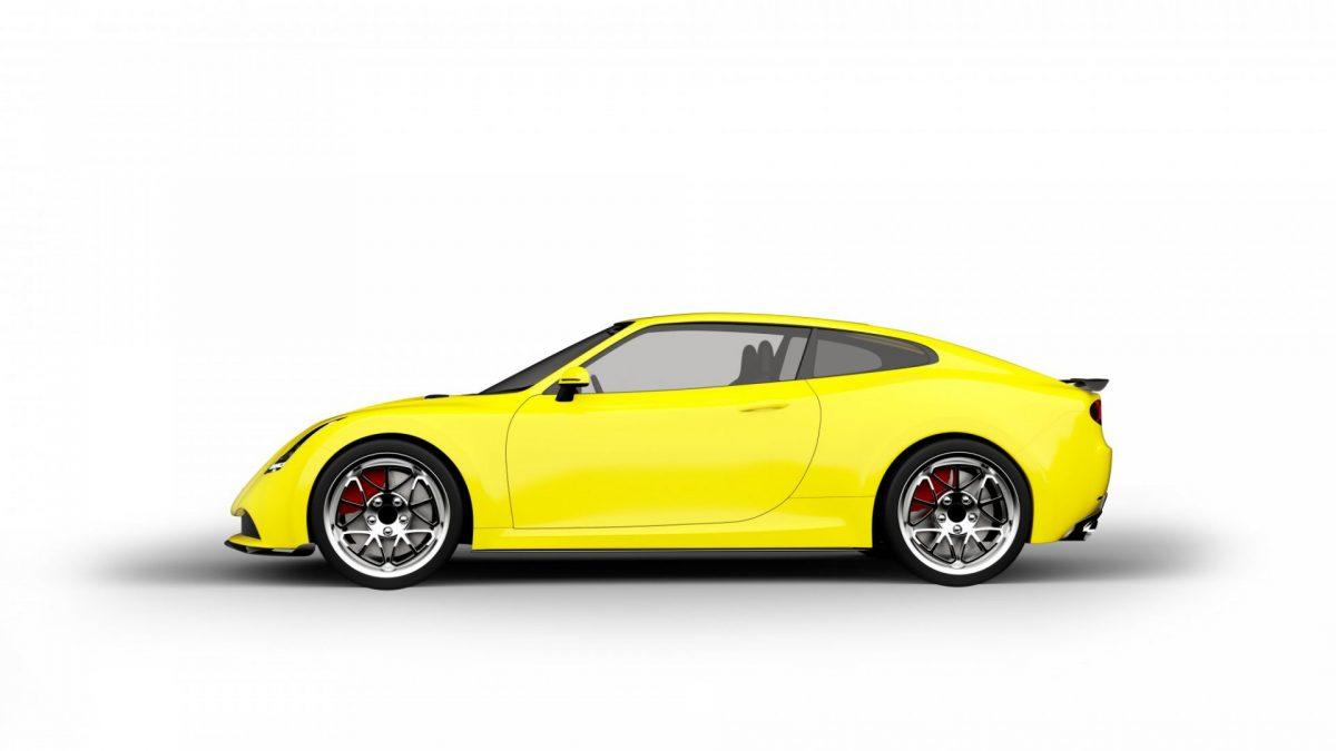 Yellow Car Punch