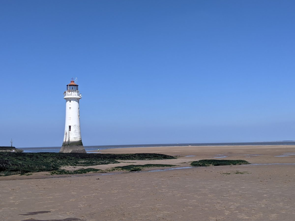 Day out at New Brighton